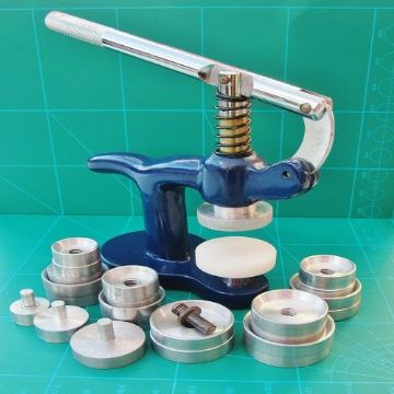 Watch Crystal Bezel and Back Fitting Press 31 Aluminium & Nylon Dies  + Pin Link Attachement Tool